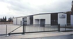 Bau eines Betriebshofes