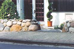 trockenmauer mit verfugung